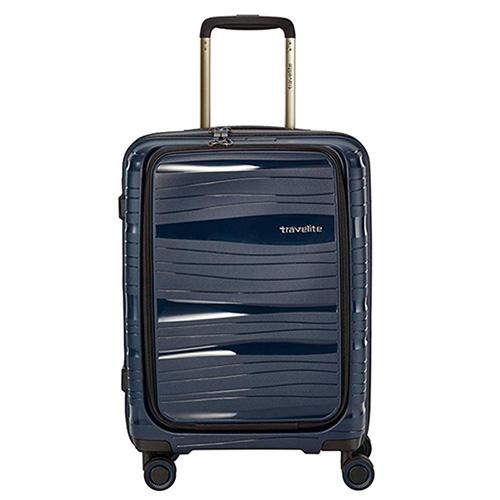 Чемодан синий 39x55x23см Travelite Motion с отделением для ноутбука, фото