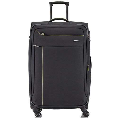 Большого размера чемодан 77x47х30-34см Travelite Solaris с функцией расширения, фото