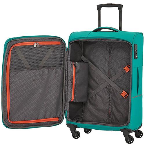 Чемодан среднего размера 77x47х30-34см Travelite Solaris для путешествий, фото