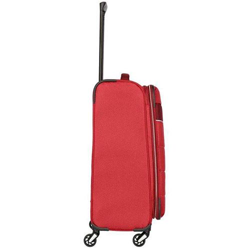 Средний чемодан 42x64x27-31см Travelite Kite красного цвета, фото