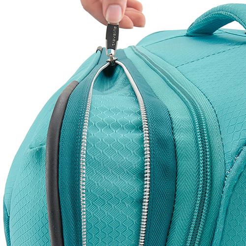Большой чемодан 75x47х29-33см Travelite Kite выполнен в бирюзовом тоне, фото
