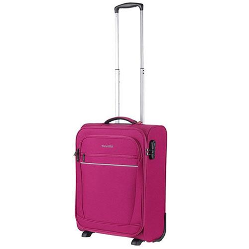 Маленький чемодан 40x55x20см Travelite Cabin цвета фуксии, фото