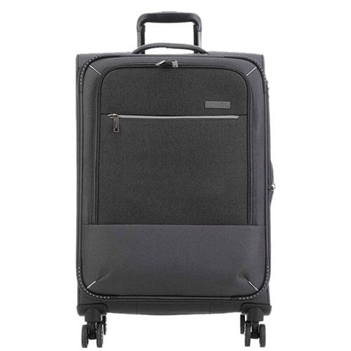 Большой чемодан 47x77x30-34см Travelite Arona серого цвета, фото