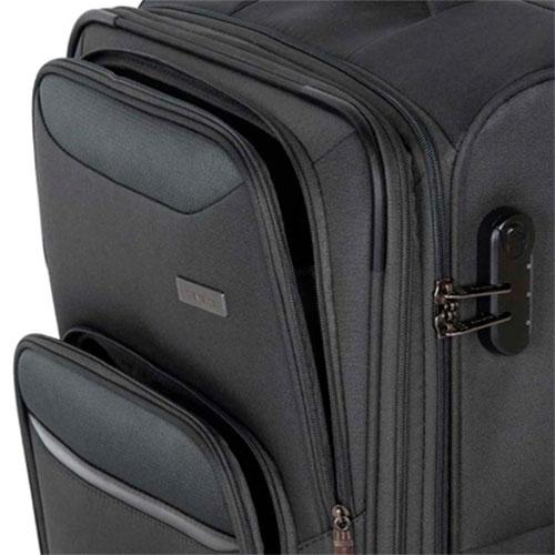 Чемодан Travelite Kendo серого цвета 42x66x26/30см, фото