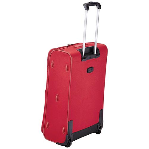 Чемодан красного цвета 73x47х26см Travelite Orlando на 2х колесах, фото