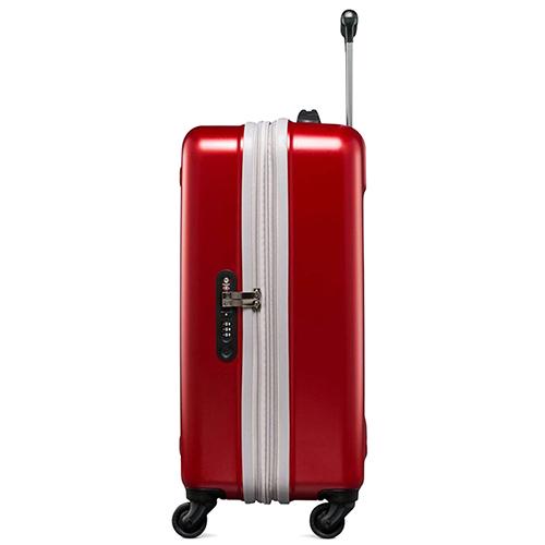 Красный чемодан 60х40х25-28см Victorinox Etherius размера ручной клади, фото