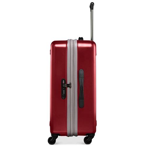Красный маленький чемодан 67х45х30см Victorinox Etherius с 4х колесной системой, фото