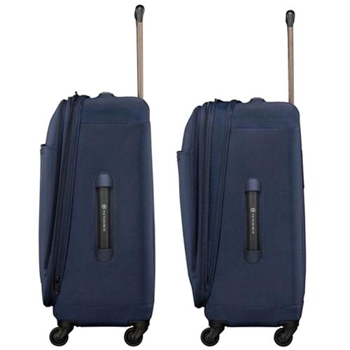 Синий чемодан 67х46х30см Victorinox Avolve 3.0 среднего размера для путешествий, фото