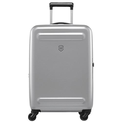 ☆ Маленький чемодан 60х40х25-28см Victorinox Etherius серого цвета ... 082fafe4517