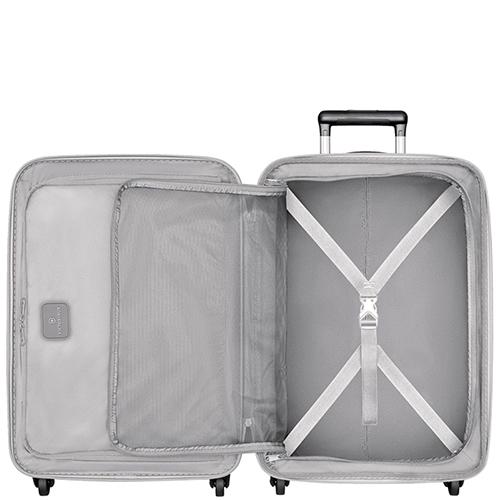 Серый чемодан 67х45х30-34см Victorinox Etherius среднего размера, фото