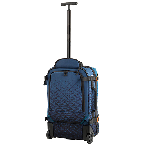 Синий рюкзак на колесах Victorinox Vx Touring из текстиля, фото