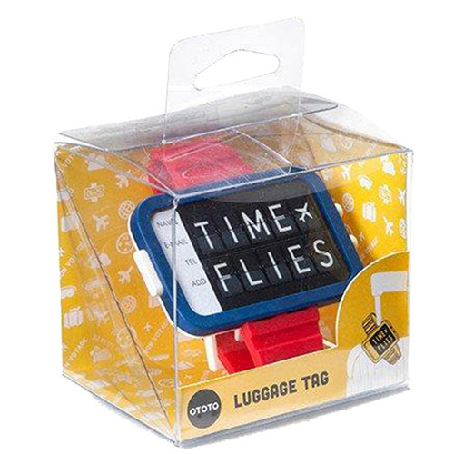 Бирка для багажа OTOTO Time Files, фото