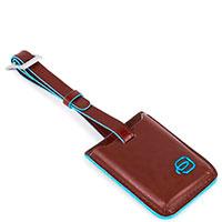 Бирка-трекер Piquadro Bl Square коричневого цвета, фото