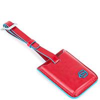 Бирка-трекер Piquadro Bl Square красного цвета, фото