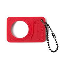 Брелок-открывалка для бутылки Rocket Opening Act красного цвета, фото