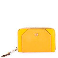 Ключница Piquadro Muse желтого цвета, фото