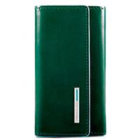 Ключница Piquadro Bl Square на 6 ключей зеленого цвета, фото
