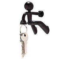 Держатель для ключей Peleg Design Key Pete черный, фото