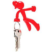 Держатель для ключей Peleg Design Key Petite красный, фото