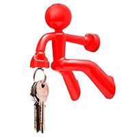 Держатель для ключей Peleg Design Key Pete красный, фото
