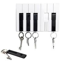 Ключница настенная с брелками для ключей Qualy Key Piano, фото