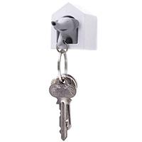 Ключница настенная с брелком-свистком Qualy Elephant, фото