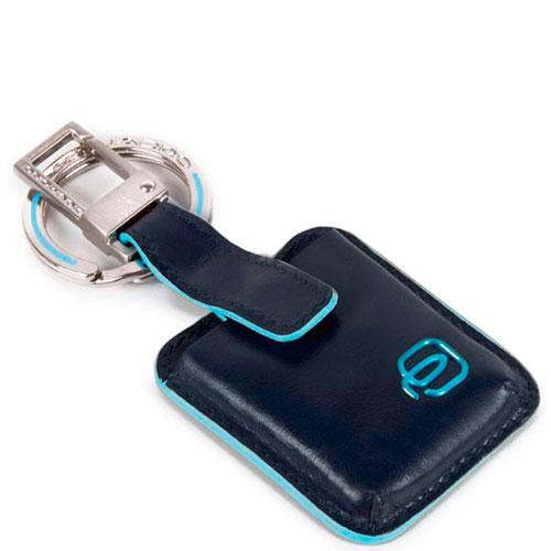 Брелок-трекер Piquadro Bl Square синего цвета, фото