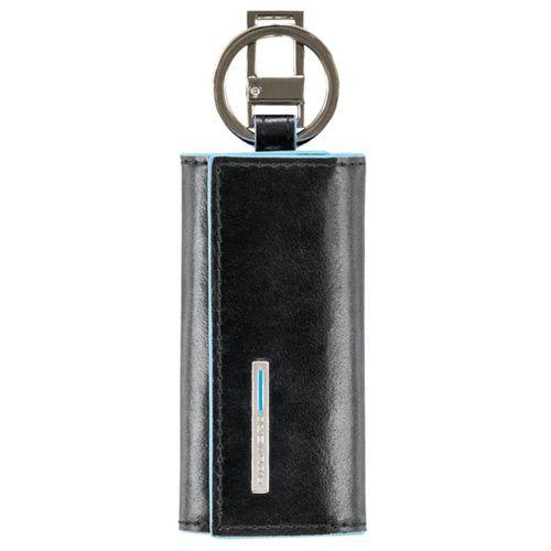 Ключница Piquadro Blue square на 4 ключа, фото