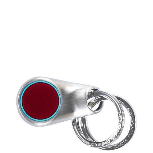 Брелок круг с 2 кольцами Blue square, фото