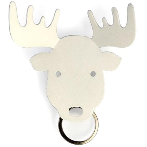 Держатель для ключей Qualy Moose белого цвета, фото