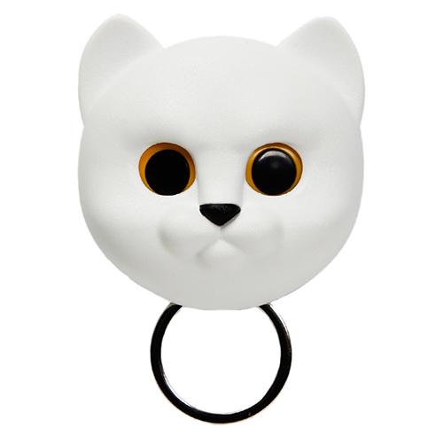 Ключница настенная Qualy Neko Cat белый кот, фото