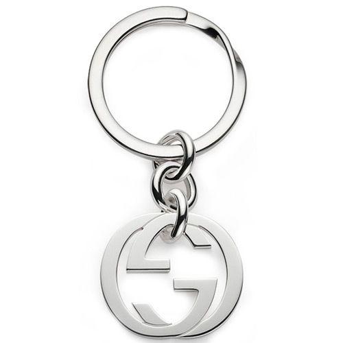 Брелок для ключей Gucci из серебра Silver Britt, фото