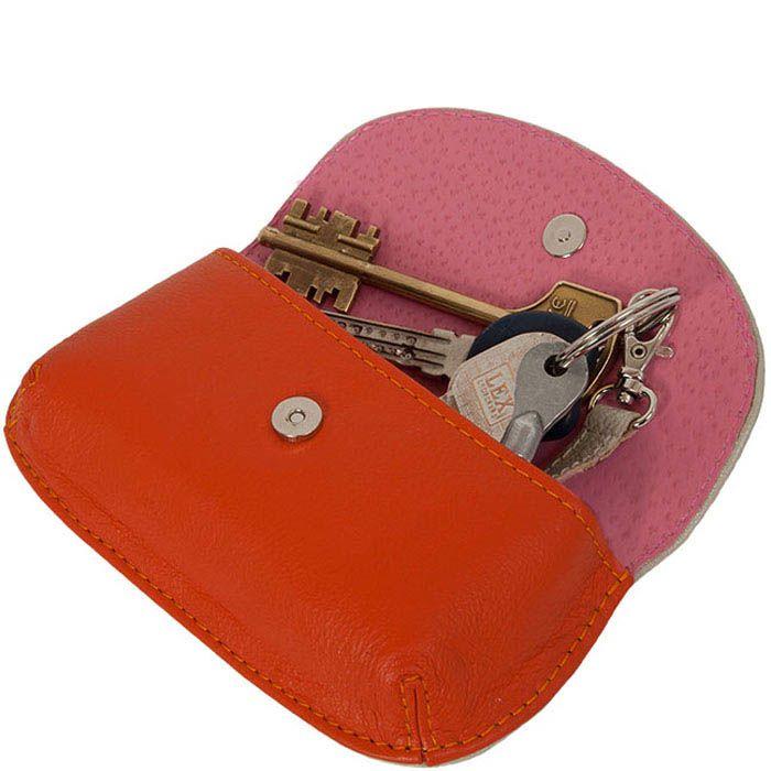 Ключница Unique U Вальс цветов оранжевого цвета