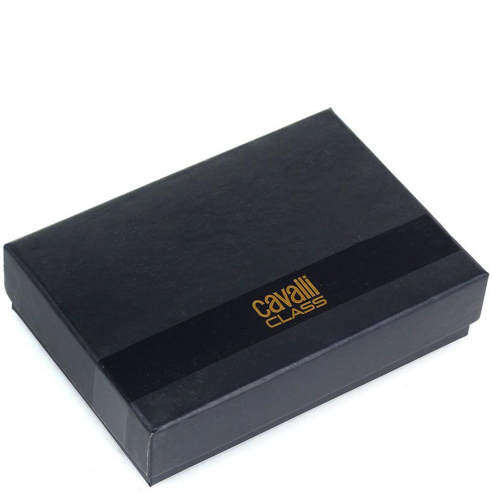 Брелок Cavalli Class серого цвета с фирменным знаком
