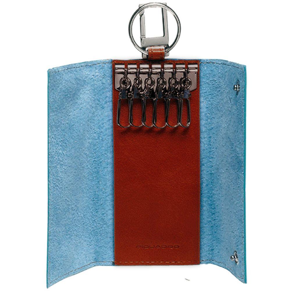 Ключница Piquadro Blue square