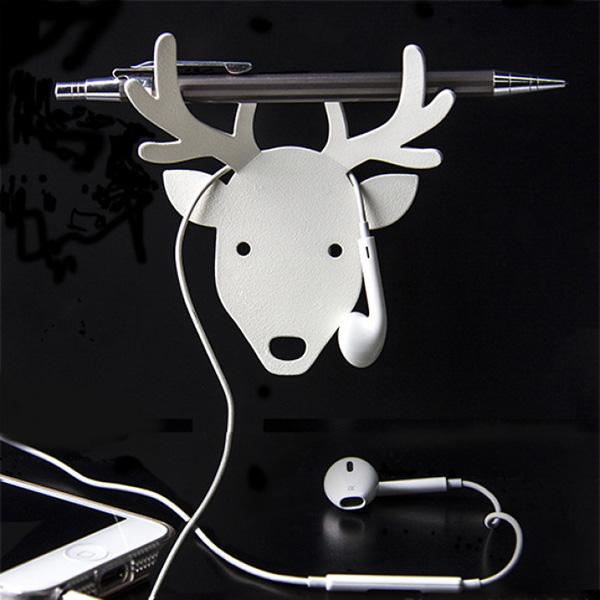 Металлический держатель Qualy Deer для ключей и аксессуаров
