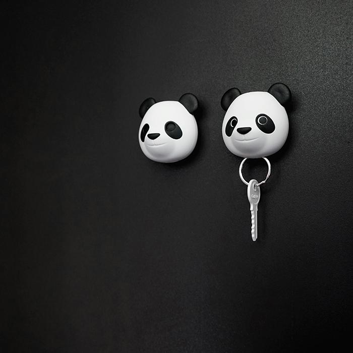 Ключница настенная Qualy Pandy Pan Панда