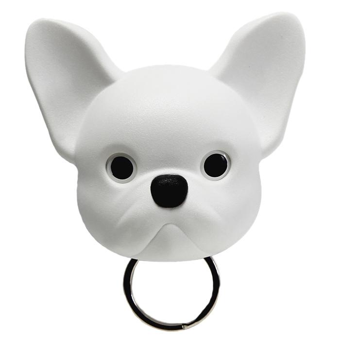 Ключница настенная Qualy Frenchy Dog белая собака
