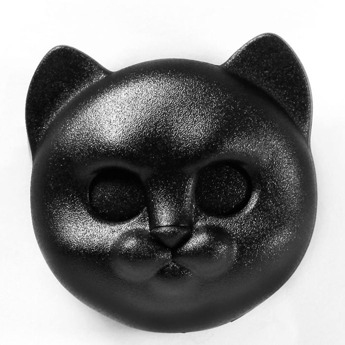 Ключница настенная Qualy Neko Cat черный кот