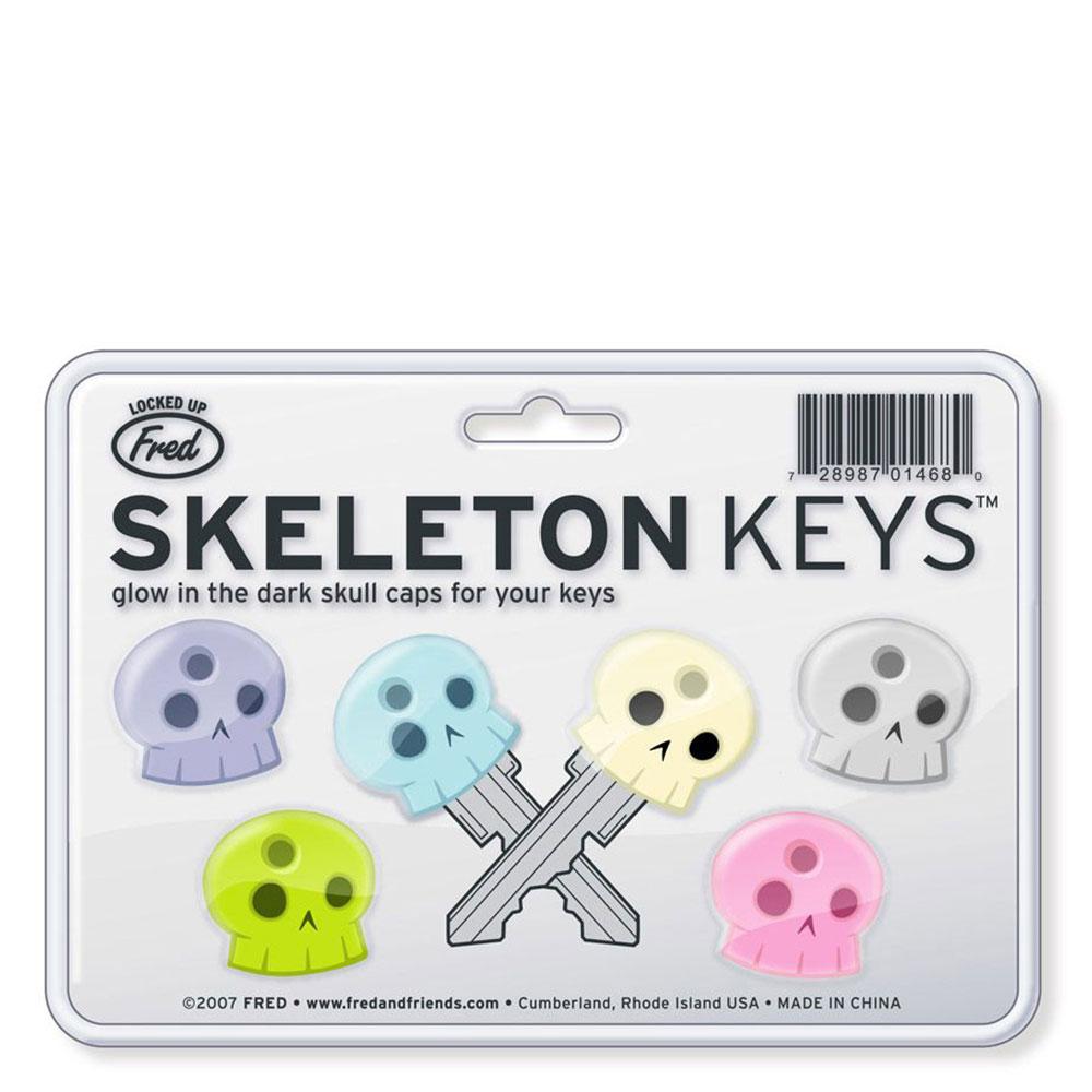 Колпачки для ключей Fred and Friends 6шт