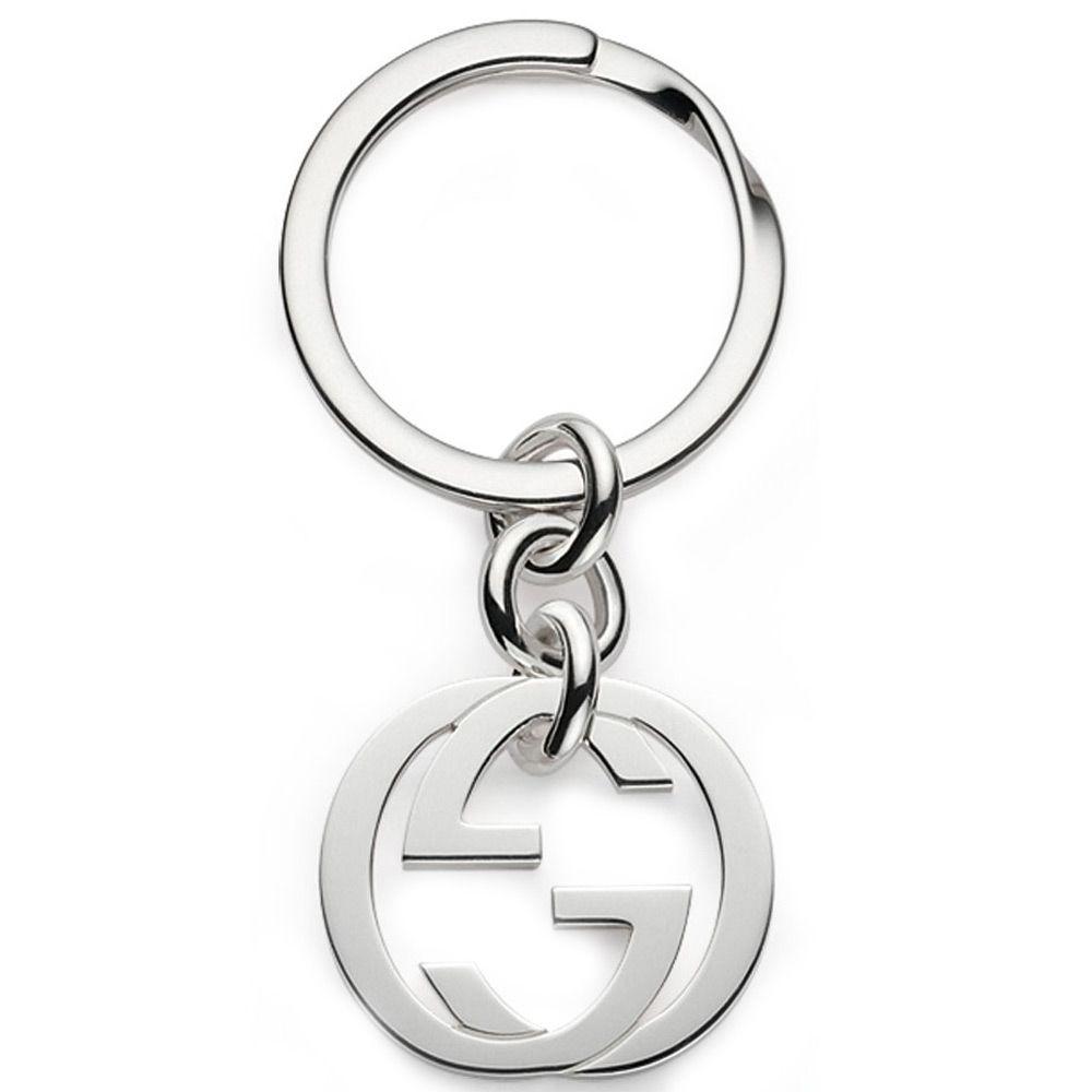 Брелок для ключей Gucci из серебра Silver Britt