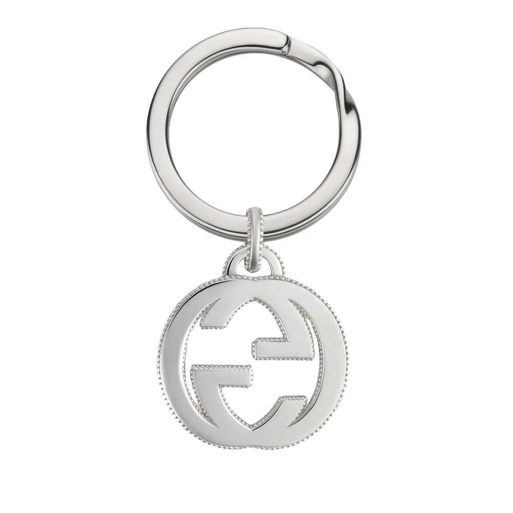 Брелок GucciInterlocking G с логотипом