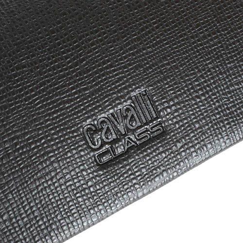 Ключница Cavalli Class Astoria темно-коричневого цвета из кожи фактуры сафьян на 6 ключей, фото
