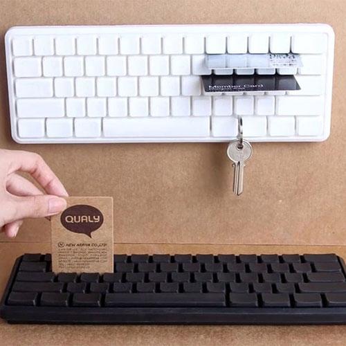 Настенный держатель Qualy Keys Board для ключей, фото