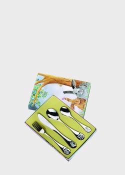 Детский набор столовых приборов Pinti Audrey 4пр , фото