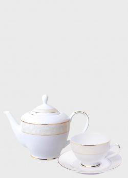 Чайный сервиз DPL Winter Wind Ivory на 6 персон из 17 предметов, фото