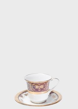 Чашка с блюдцем Noritake Georgian Gold 0,22л , фото