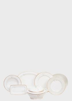 Столовый набор Noritake Golden Wave на 12 персон из 42 предметов, фото