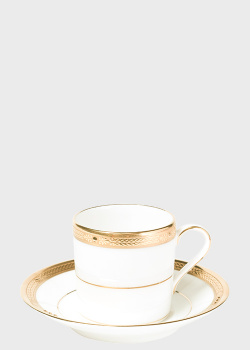Чашка с блюдцем Noritake Chatelaine Gold 0,125л, фото