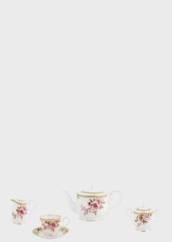 Чайный набор на 12 персон Noritake Hertford 29пр, фото
